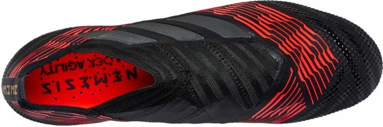 adidas Nemeziz 17  FG – Black/Solar Red