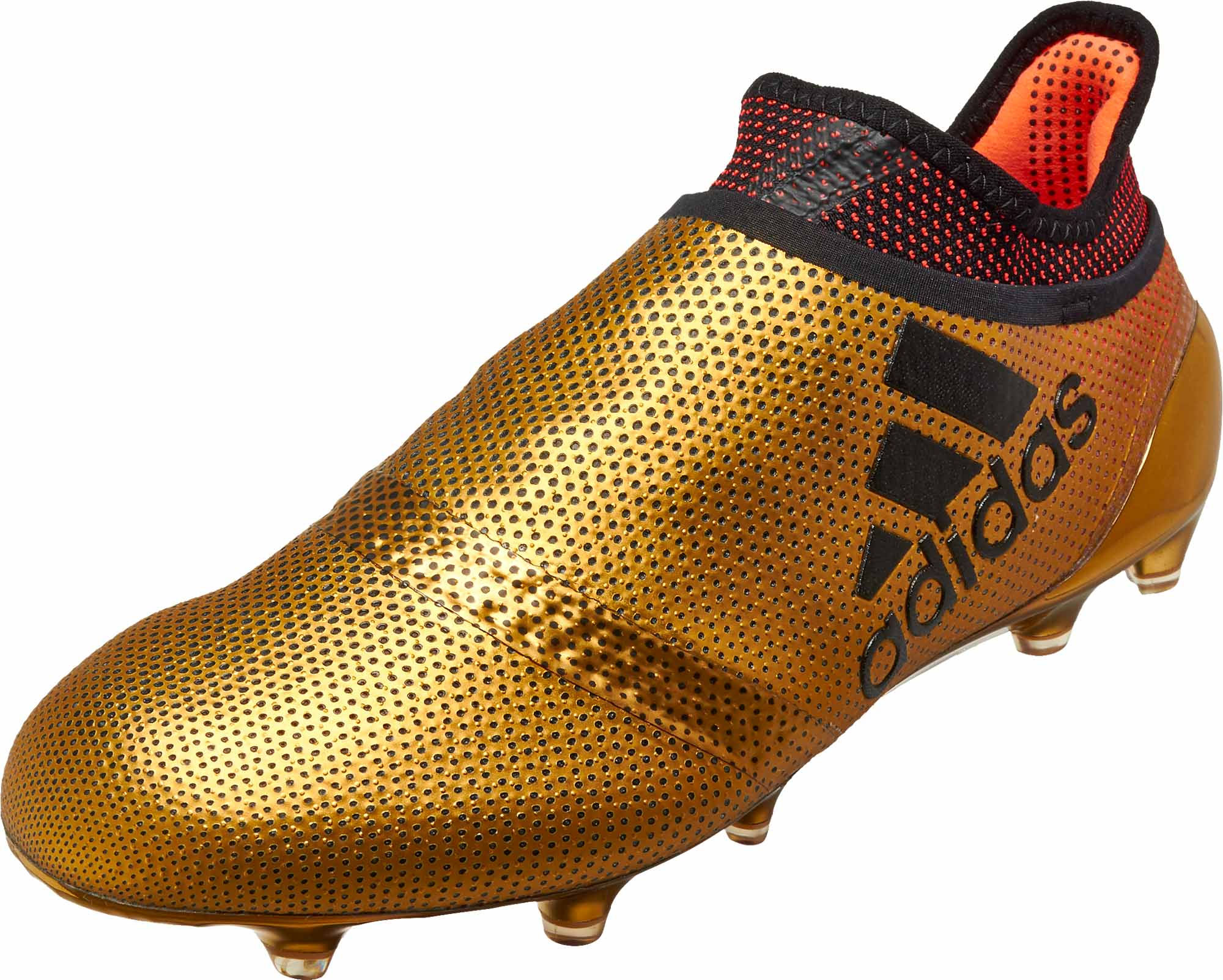 half off f03bc d6dd9 adidas X 17 FG – Tactile Gold Metallic Solar Red