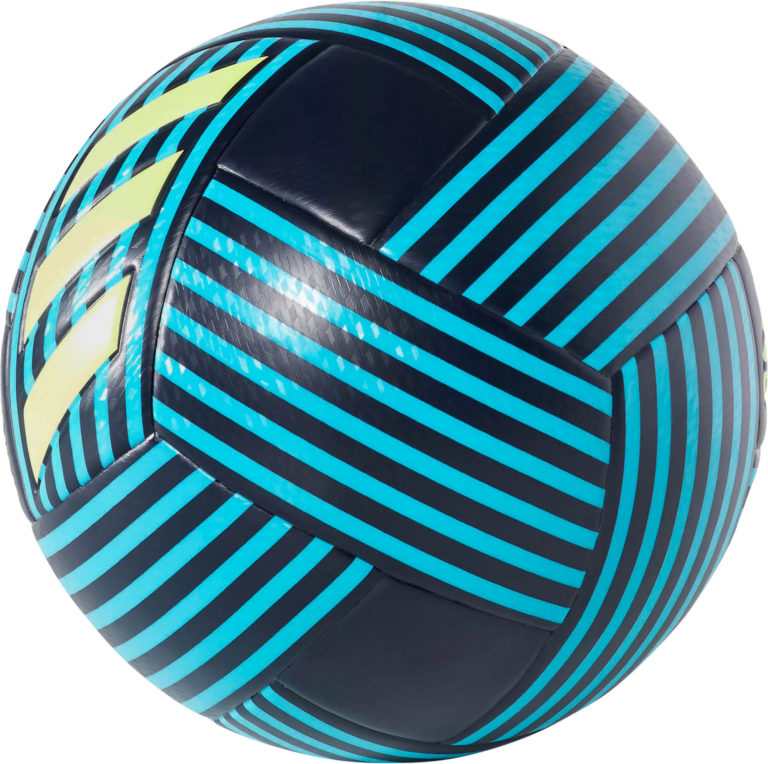 adidas Nemeziz Soccer Ball – Legend Ink/Energy Aqua
