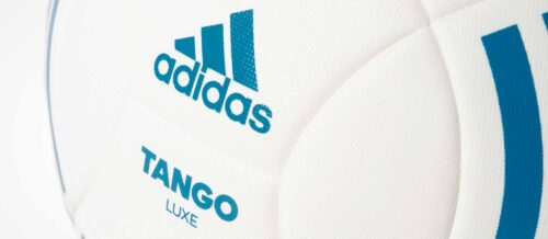 adidas Tango Lux Match Soccer Ball – White/Mystery Petrol
