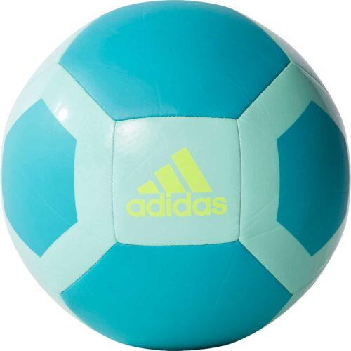 adidas Glider II Soccer Ball – Energy Aqua/Energy Blue