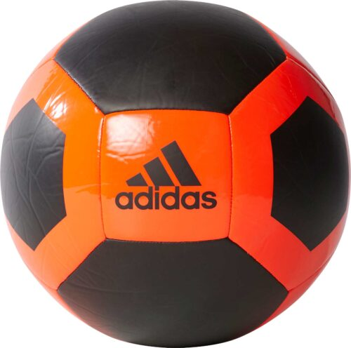 adidas Glider II Soccer Ball – Black/Solar Red