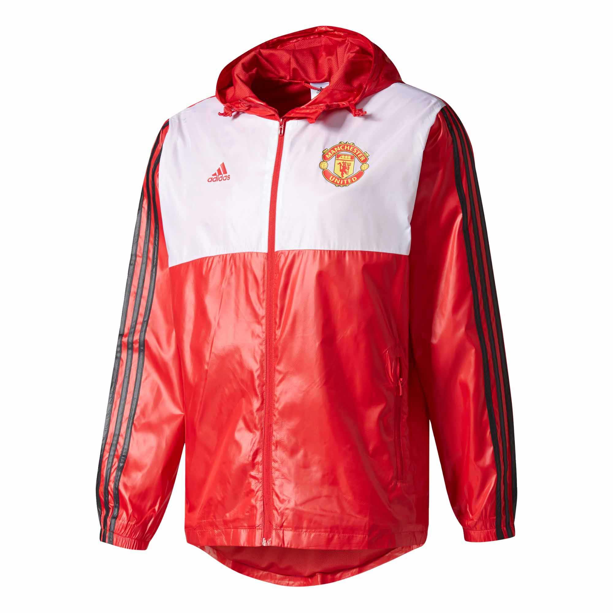 Adidas Manchester United Windbreaker Man Utd Jackets