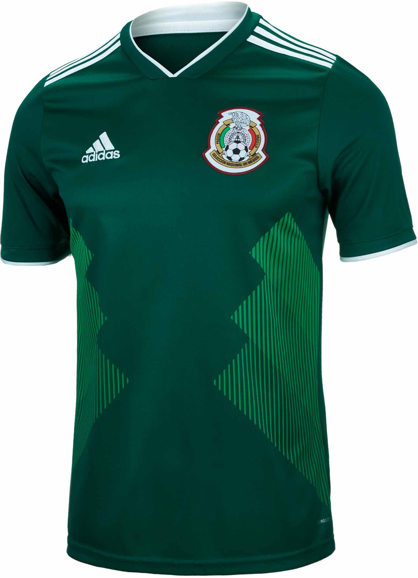 17b6b5df503 adidas Kids Mexico Home Jersey 2018-19