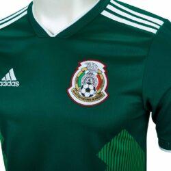 4a14db51f 2018/19 adidas Kids Hirving Lozano Mexico Home Jersey - SoccerPro