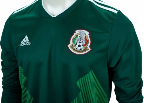 adidas Mexico L/S Home Jersey 2018-19 NS