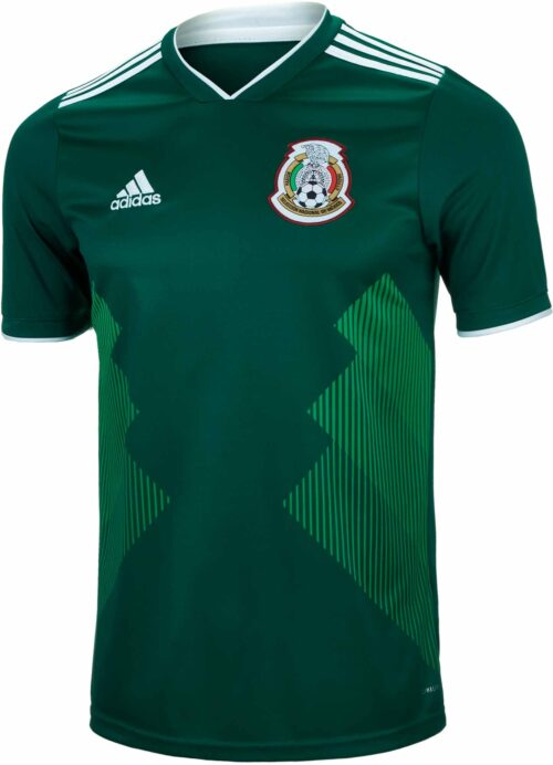 adidas Mexico Home Jersey 2018-19 NS