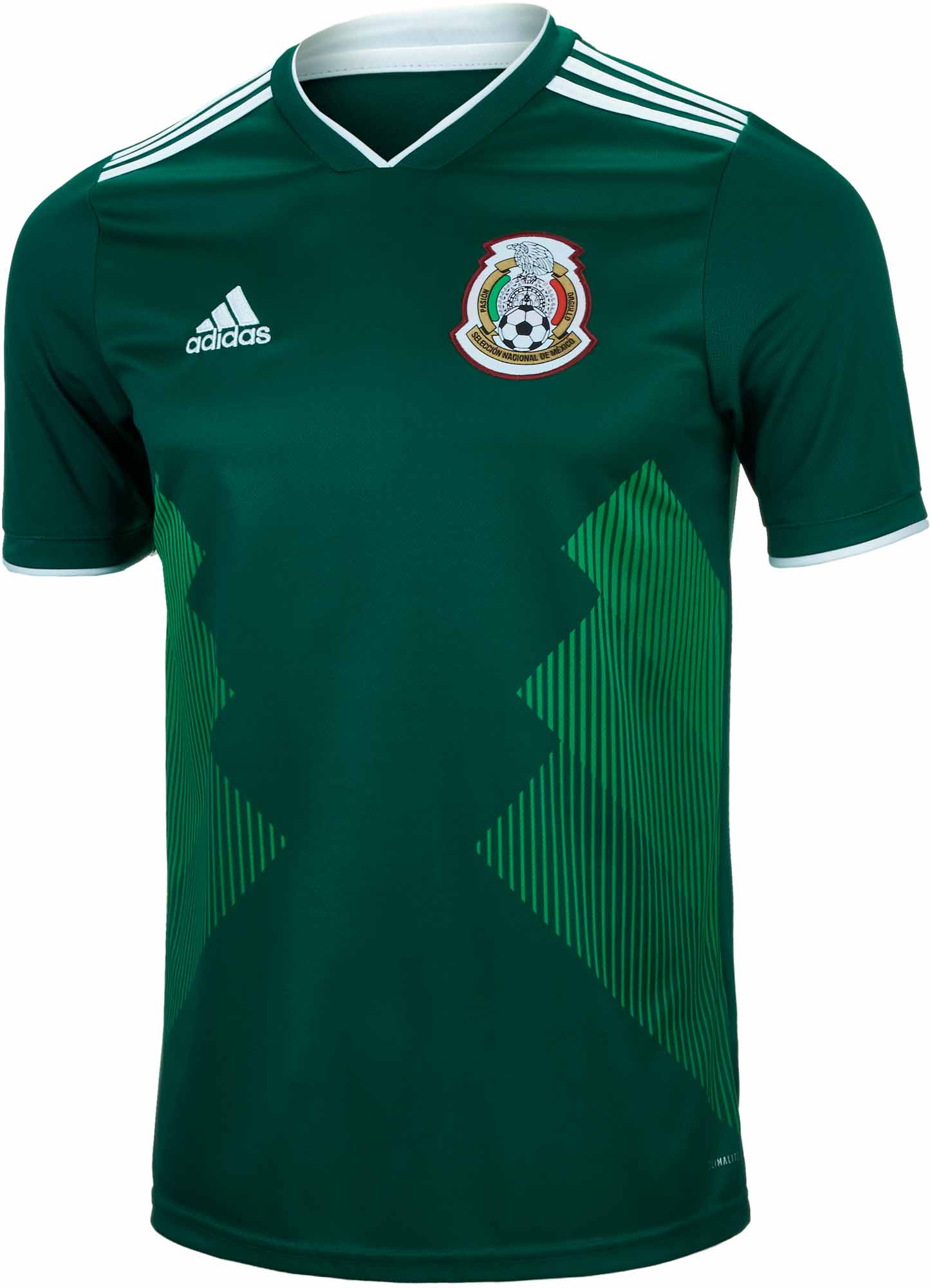 206f4bceeff adidas Mexico Home Jersey 2018-19 - SoccerPro.com