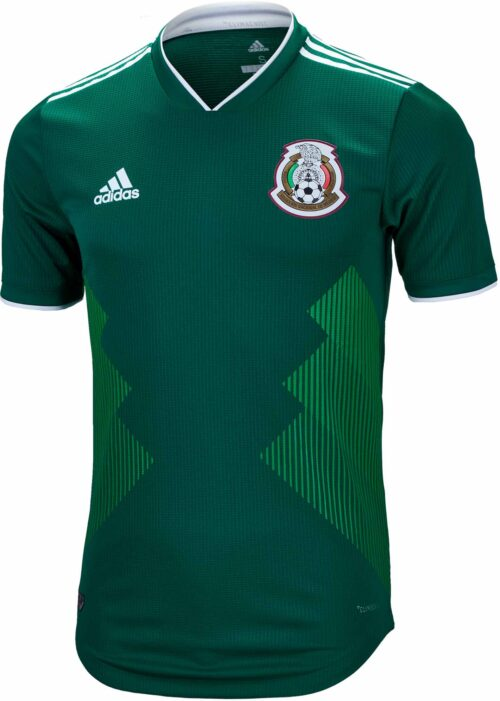 2018/19 adidas Mexico Authentic Home Jersey