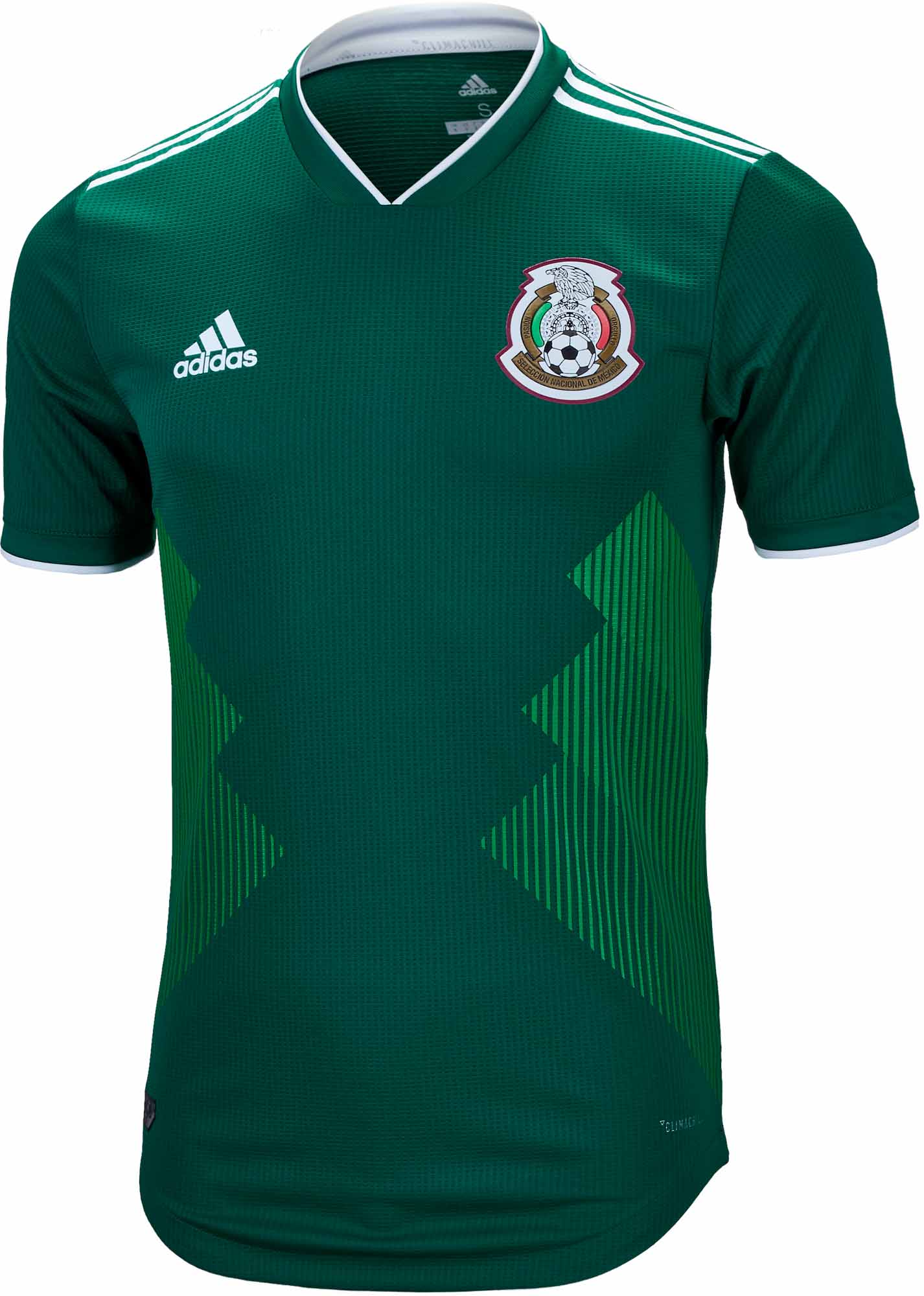d9803466ec4b2 adidas Mexico Authentic Home Jersey 2018-19