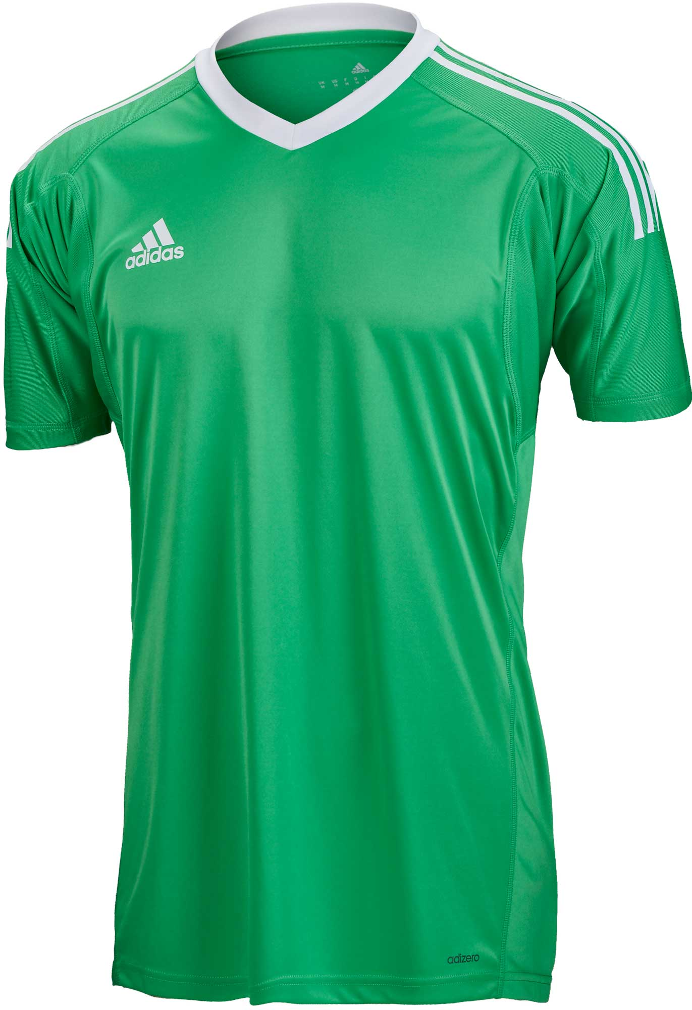 adidas Revigo 17 S/S Goalkeeper Jersey – Energy Green/White