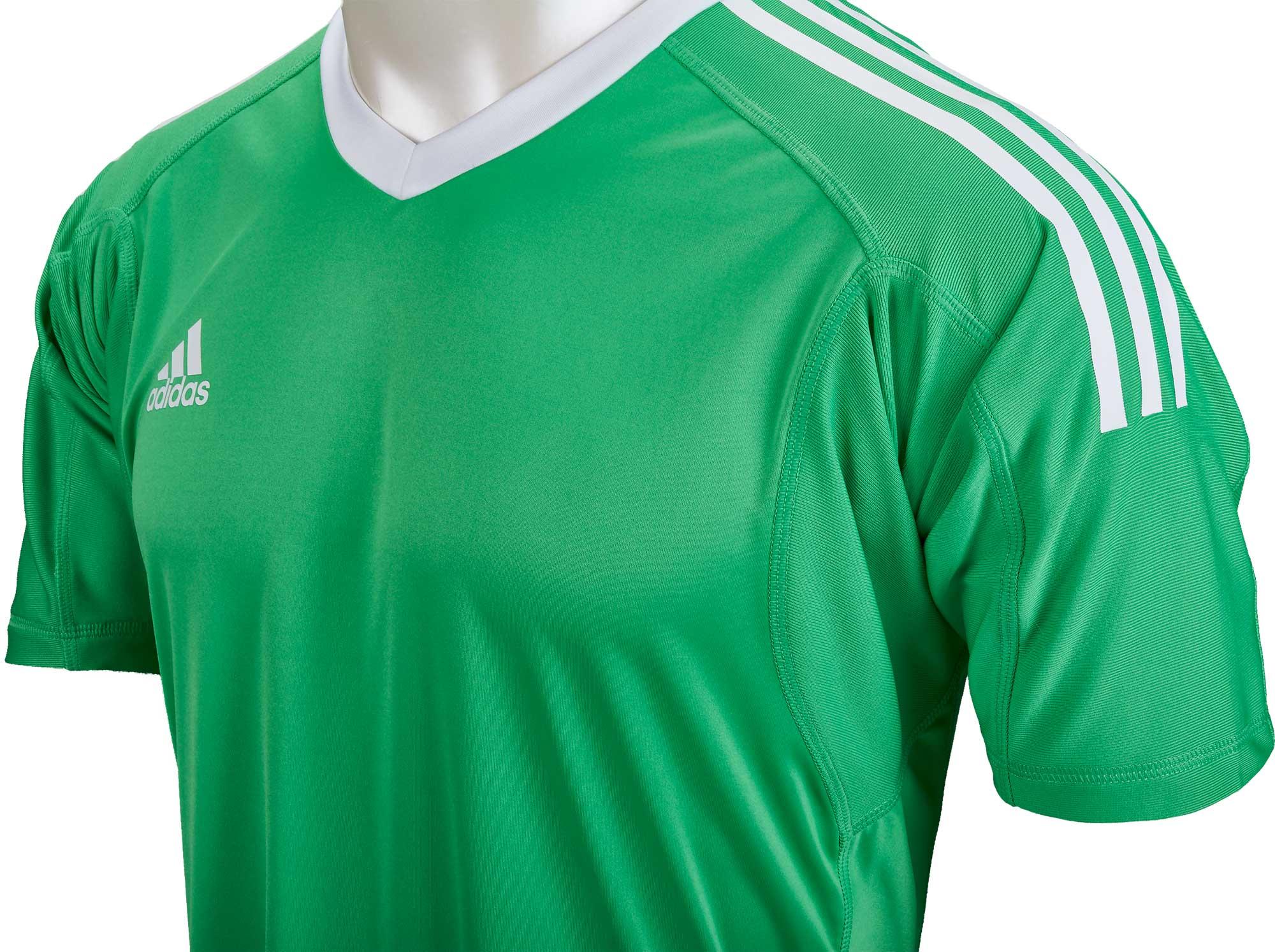 adidas Revigo 17 Short-Sleeve Goalkeeper Jersey - Green