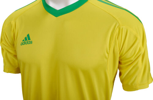adidas Revigo 17 S/S Goalkeeper Jersey – Bright Yellow/Energy Green
