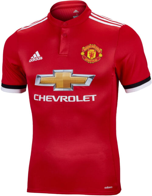 f6c6e704993 adidas Manchester United Authentic Home Jersey 2017-18 NS
