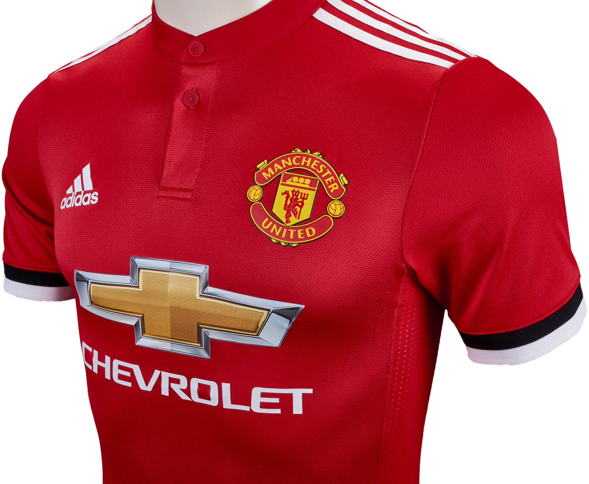 adidas Manchester United Authentic Home Jersey- 2017/18