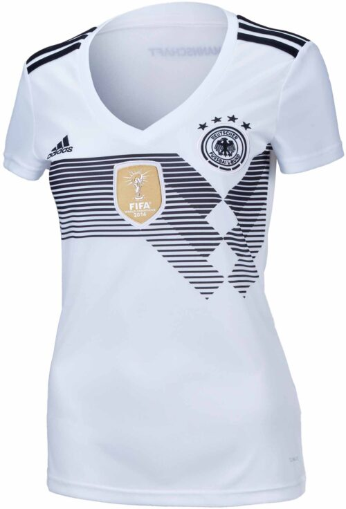 adidas Womens Germany Home Jersey 2018-19 NS