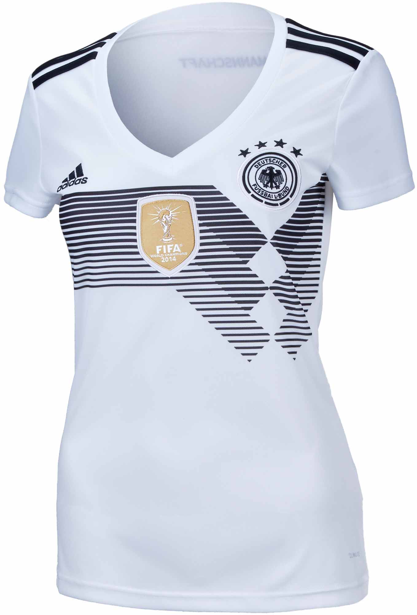 b8889f956fc adidas Womens Germany Home Jersey 2018-19 NS