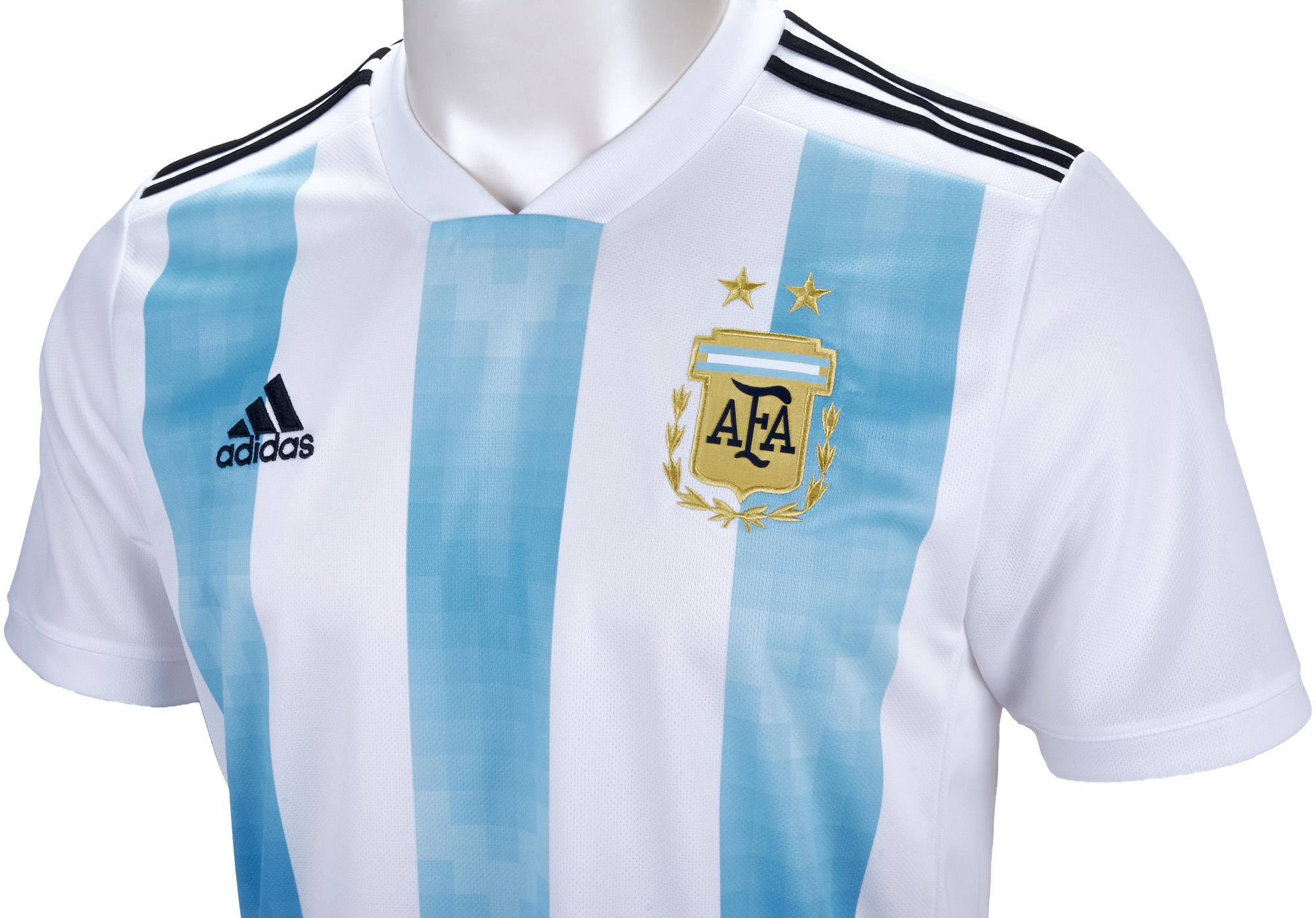 Resultado de imagen para argentina home jersey 2018