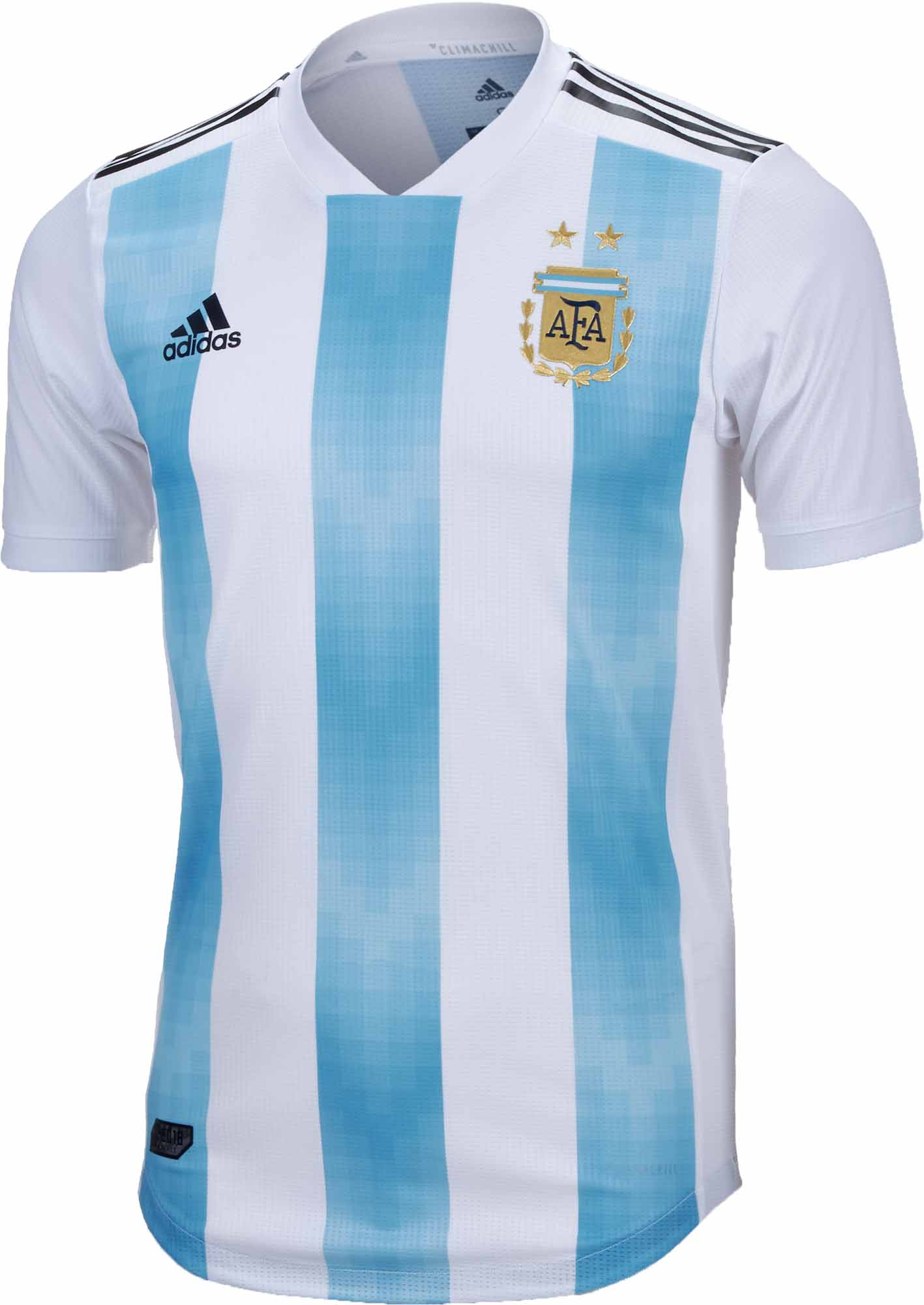 1b10fe006 adidas Argentina Authentic Home Jersey 2018-19 - SoccerPro