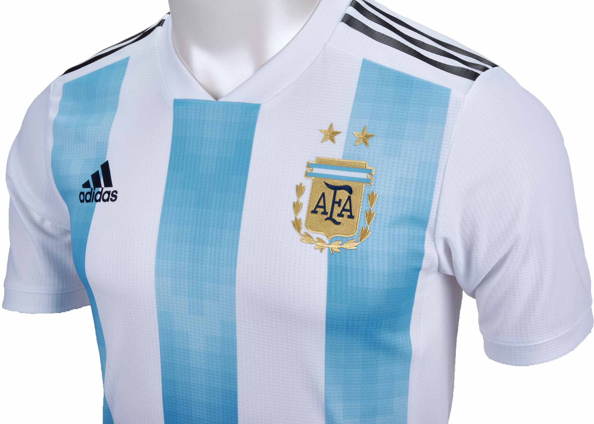 adidas Argentina Authentic Home Jersey 2018-19 - SoccerPro 3af1ee989