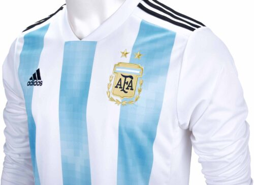 adidas Argentina L/S Home Jersey 2018-19 NS