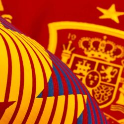 Extremo presentación Volcánico  adidas Kids Spain Home Jersey 2018-19 - SoccerPro.com