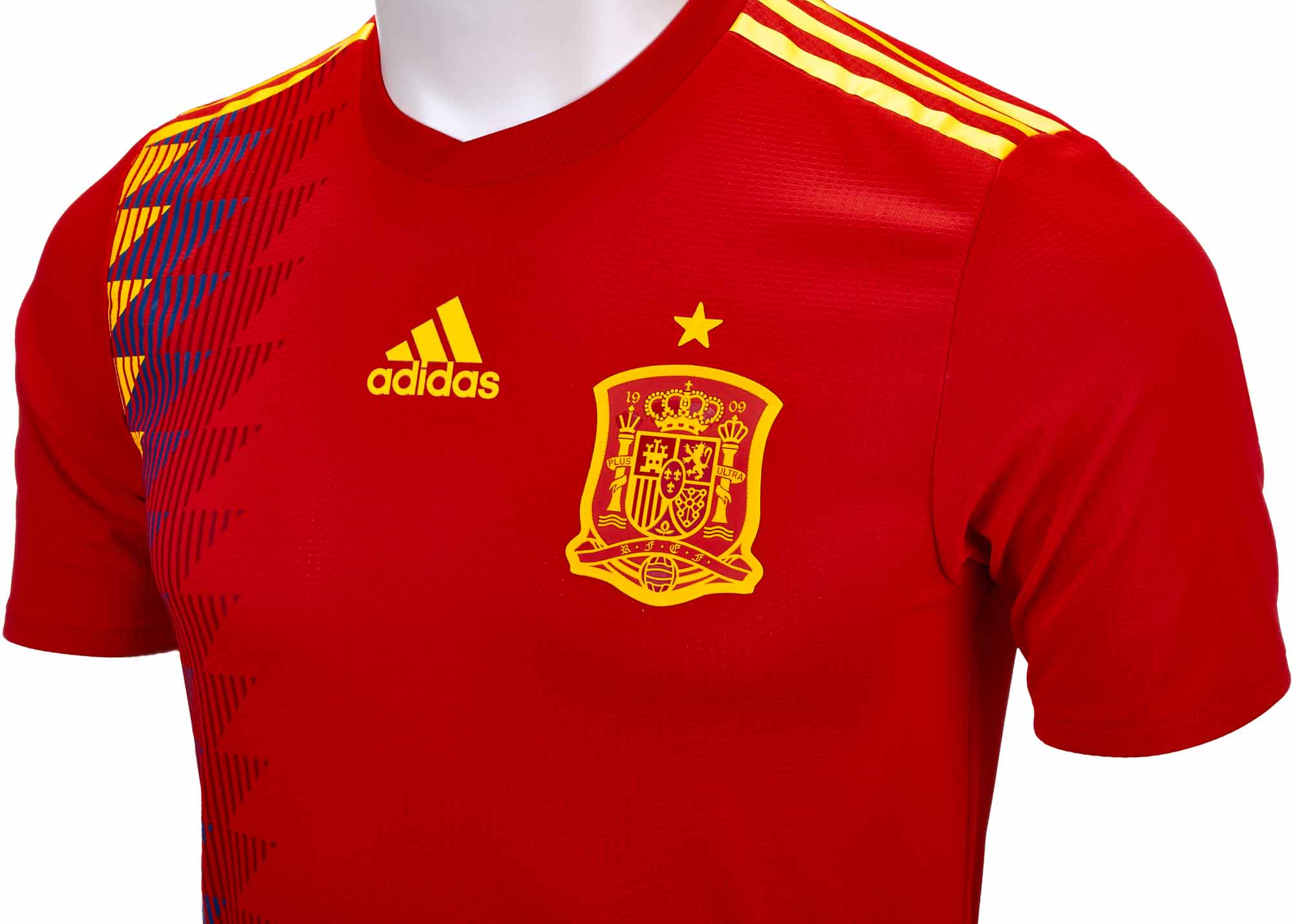 buy popular 1f5bb a7b6c adidas Spain Authentic Home Jersey 2018-19