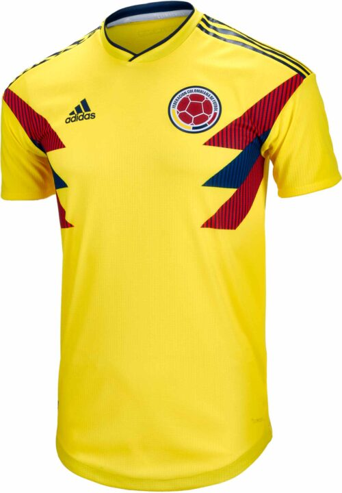 adidas Colombia Authentic Home Jersey 2018-19 NS