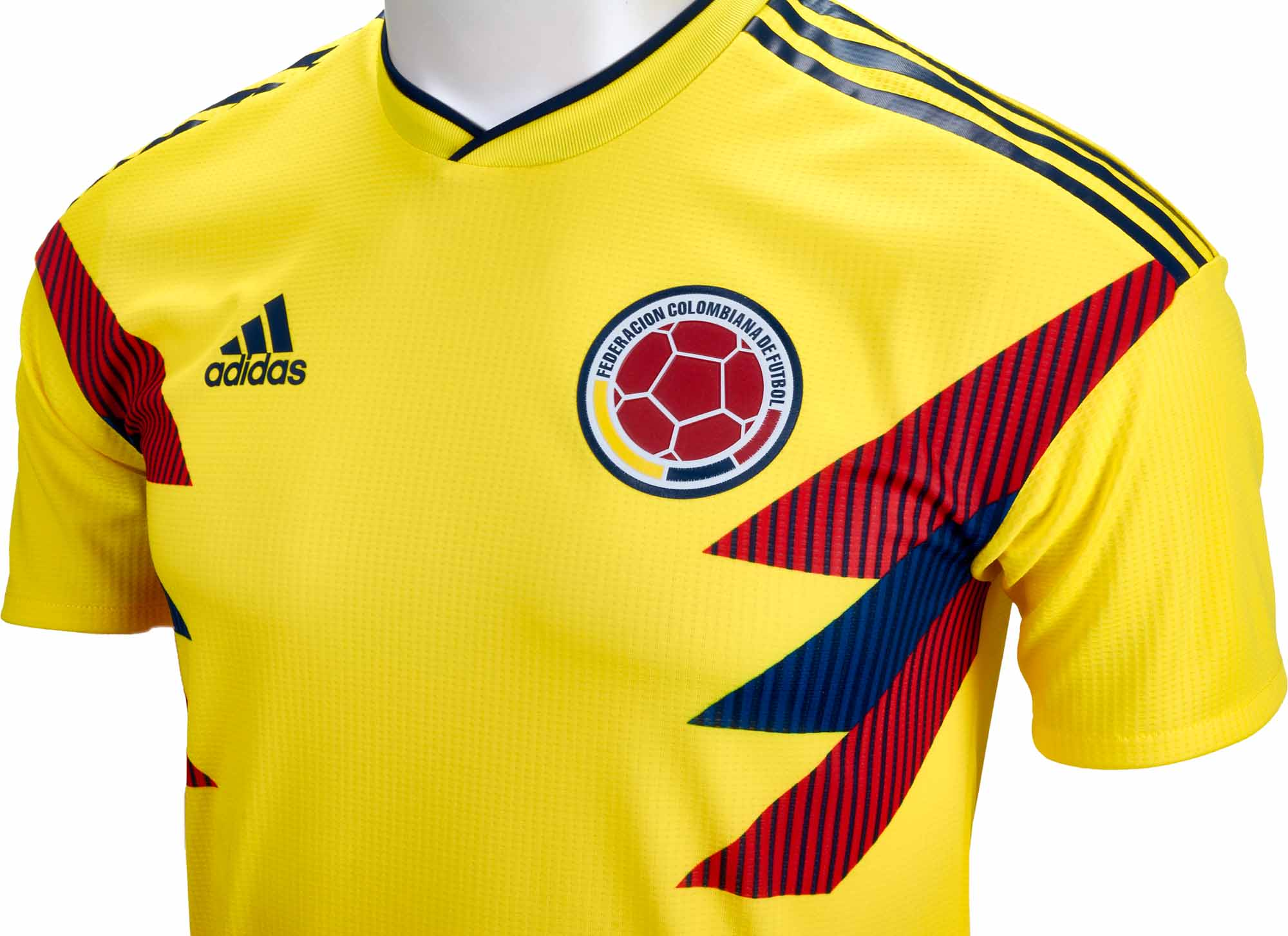2336d5fa4 adidas Colombia Authentic Home Jersey 2018-19 NS