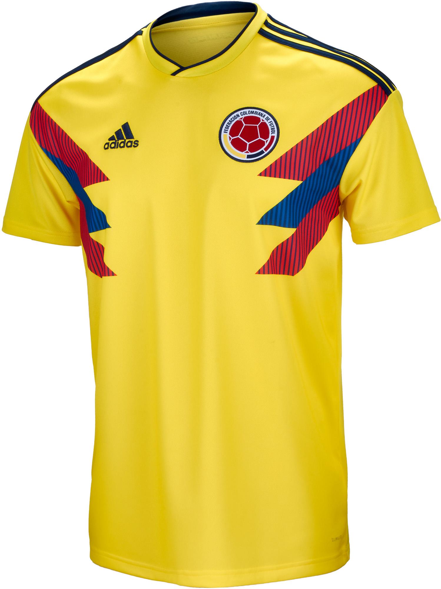 adidas Kids Colombia Home Jersey 2018-19- SoccerPro.com 6eea08033