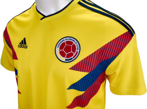 adidas Kids Colombia Home Jersey 2018-19 NS