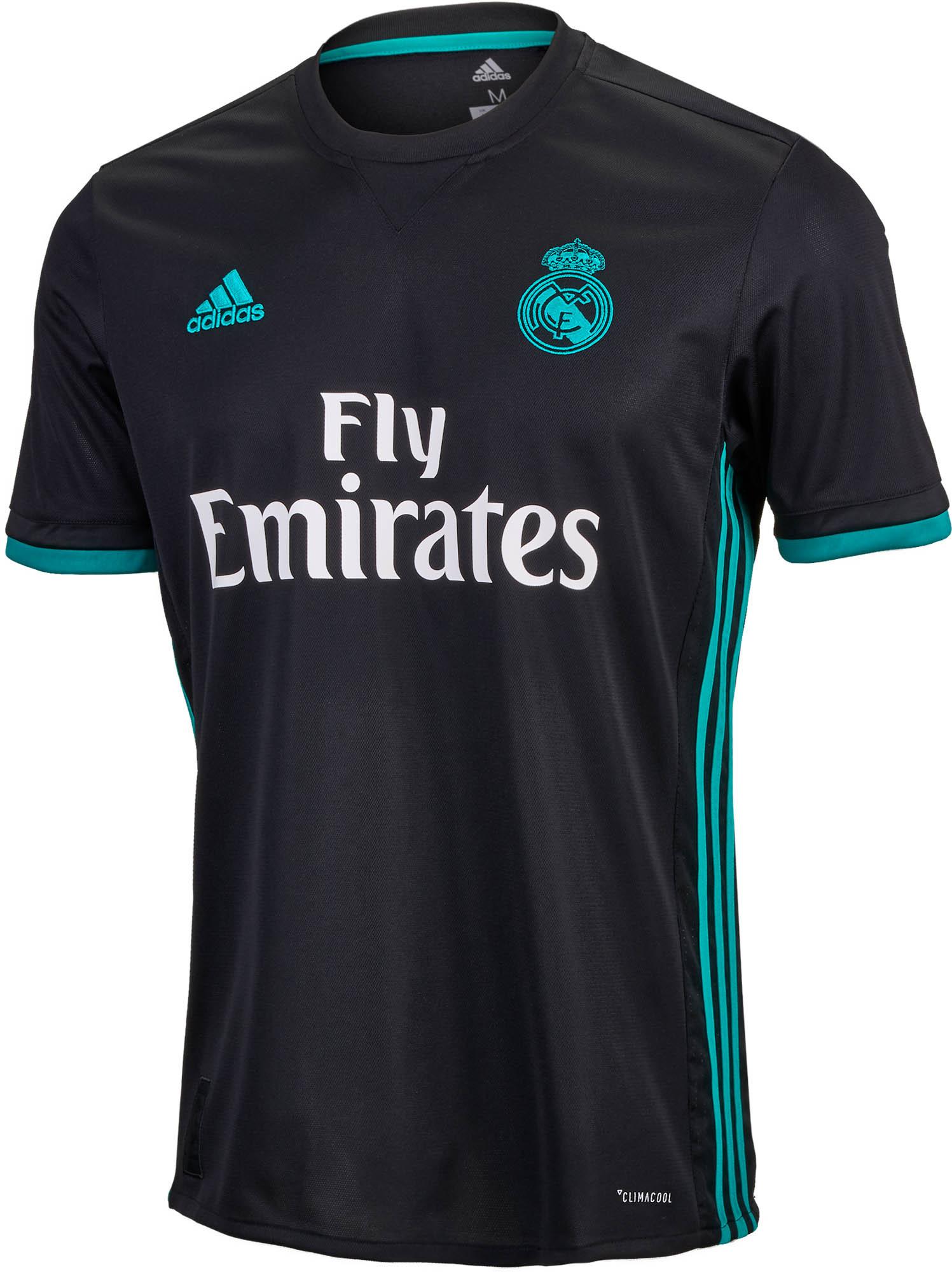 adidas Real Madrid Away Jersey - 2017/18 Soccer Jerseys