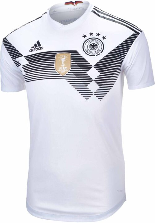 adidas Germany Authentic Home Jersey 2018-19 NS