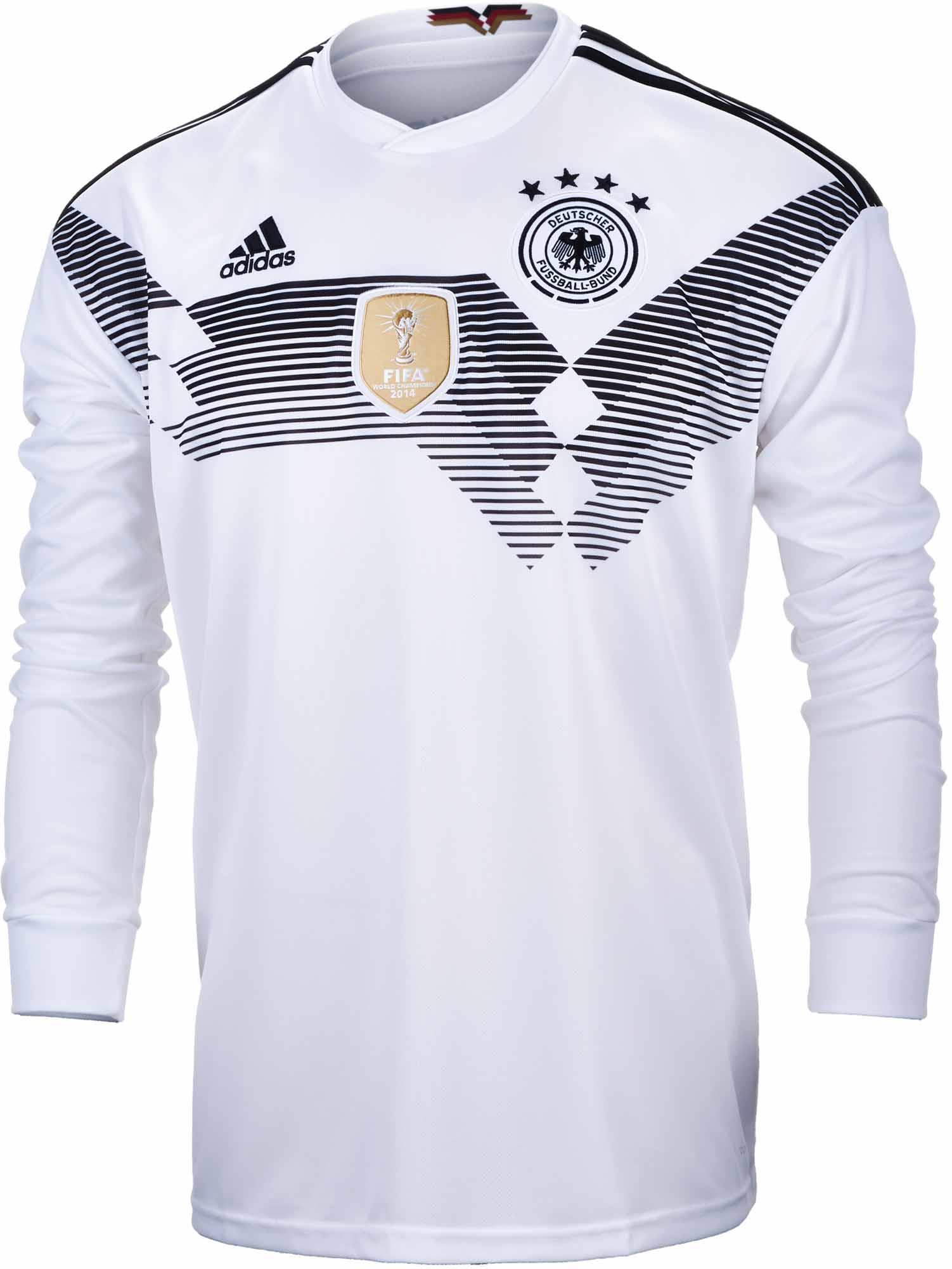 b9eec897f canada germany 19 goretzka white home long sleeves soccer country ...