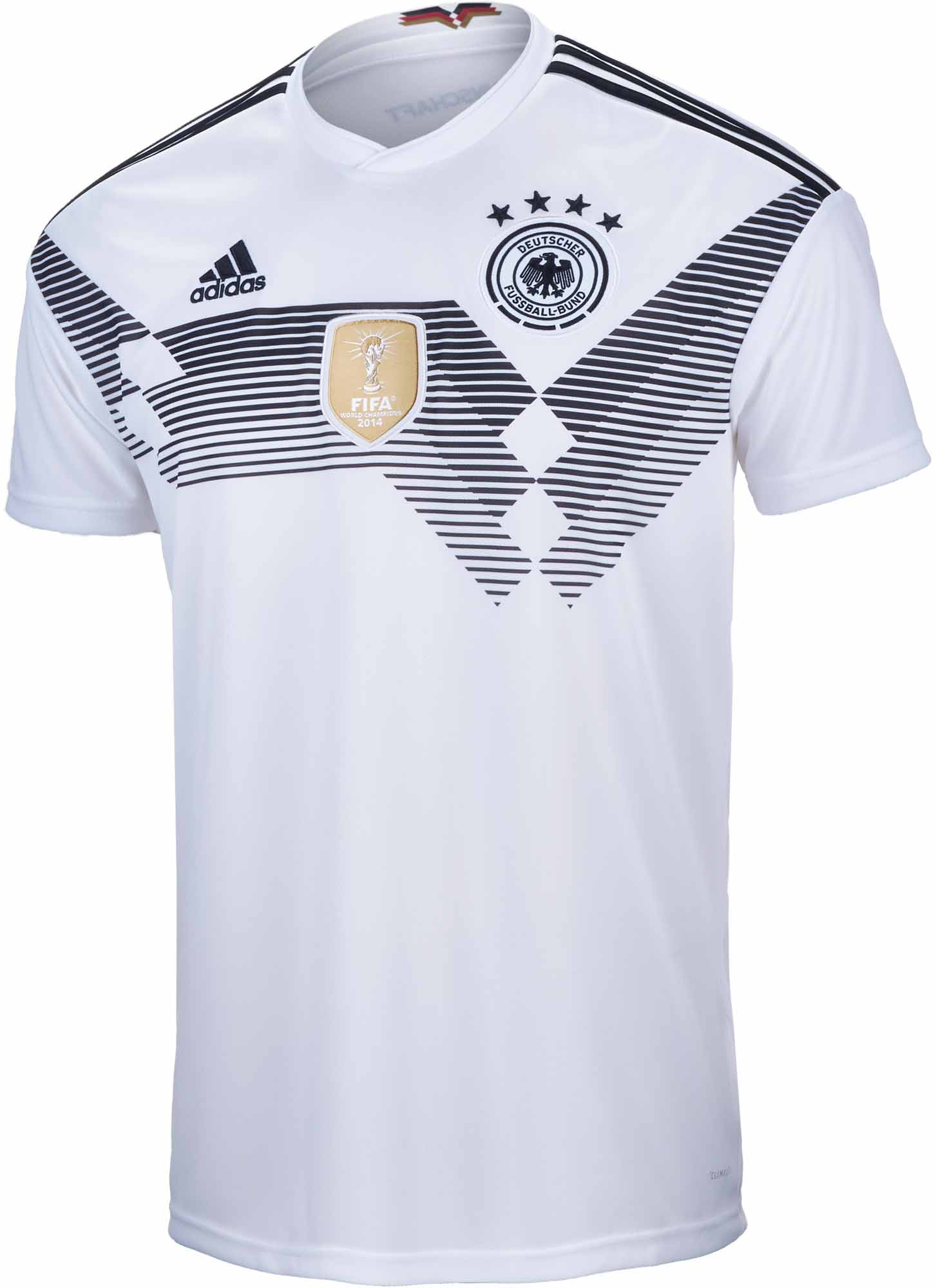 23b74bb6041 adidas Germany Home Jersey 2018-19 - SoccerPro.com