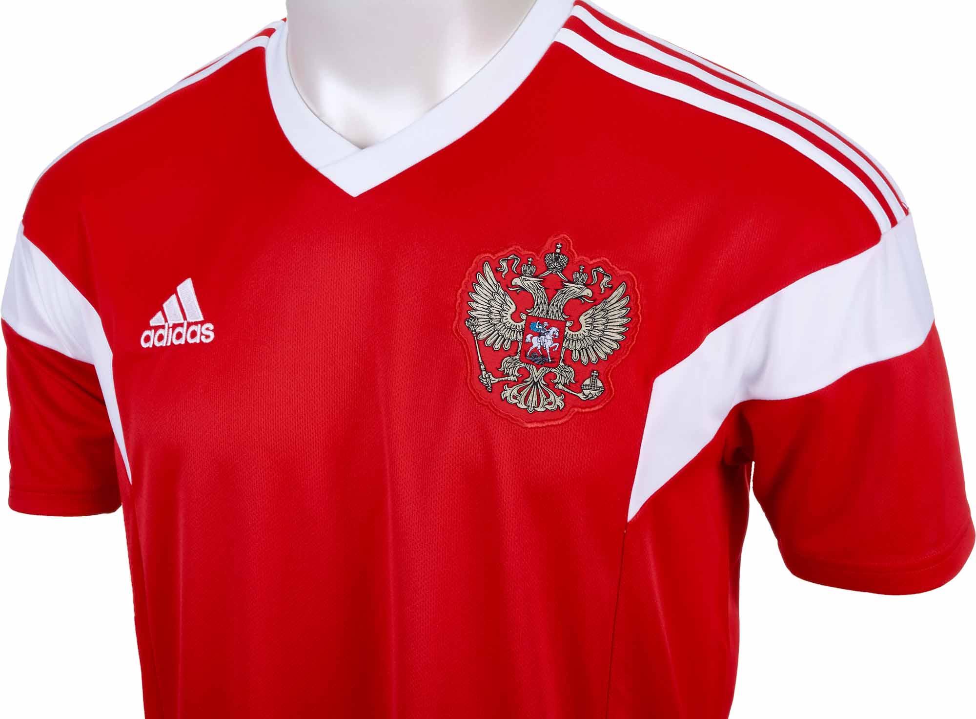 adidas Russia Home Jersey 2018-19 - SoccerPro.com