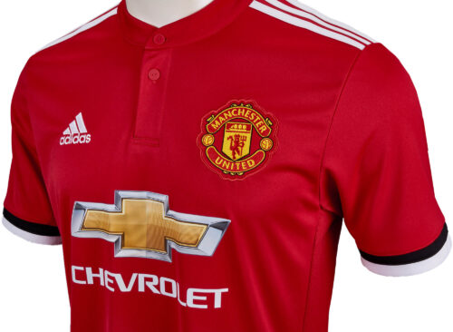 adidas Manchester United Home Jersey 2017-18 NS