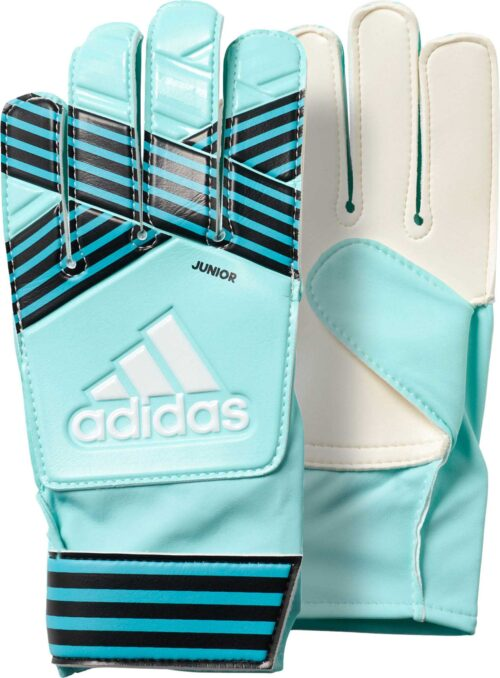 adidas Kids ACE Goalkeeper Gloves – Energy Aqua/Energy Blue