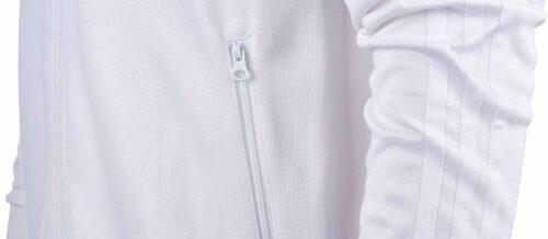 adidas Orginals Real Madrid Track Top – White
