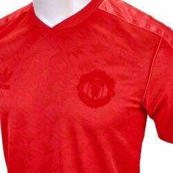 adidas Originals Manchester United Retro Jersey Red