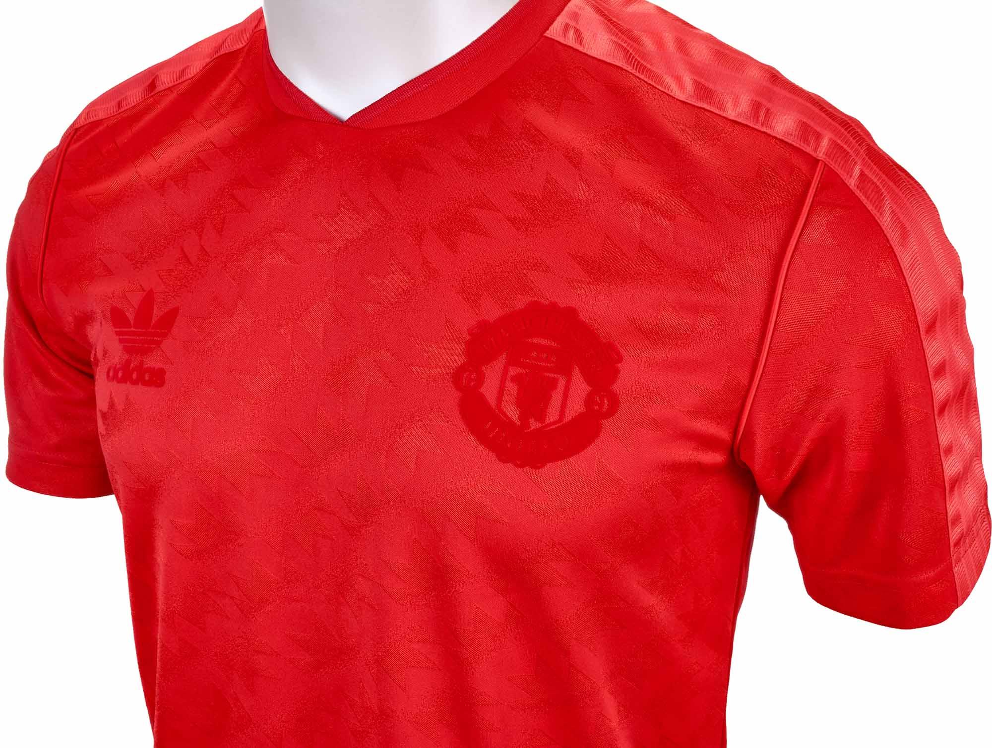 4633d70ab adidas Originals Manchester United Retro Jersey - Red