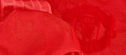 adidas Orginals Manchester United Retro Jersey – Red