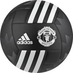 Adidas Manchester United Soccer Ball Black