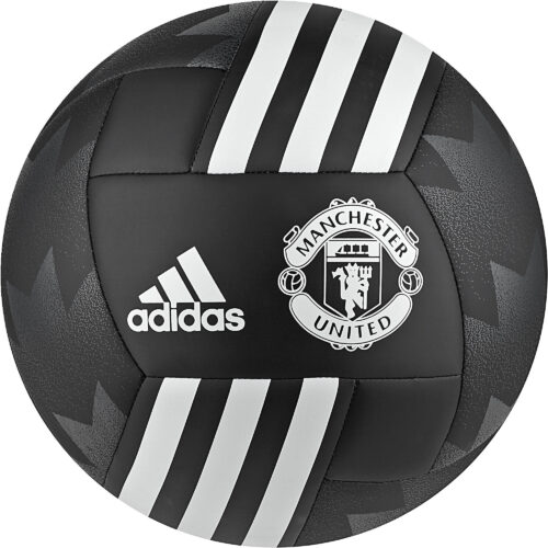 adidas Manchester United Soccer Ball – Black/White