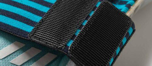 adidas ACE Trans Fingertip Goalkeeper Gloves – Energy Aqua/Energy Blue