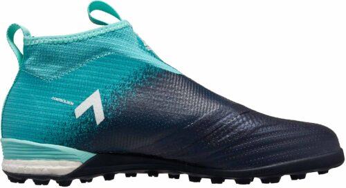 adidas ACE Tango 17  Purecontrol TF – Energy Aqua/White