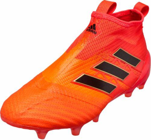 adidas Kids ACE 17  Purecontrol FG – Solar Orange/Core Black