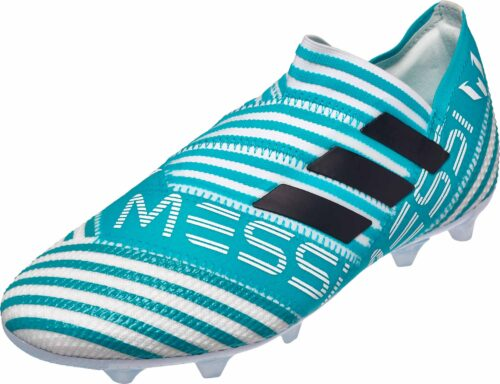 adidas Kids Nemeziz Messi 17  360Agility FG – White/Legend Ink