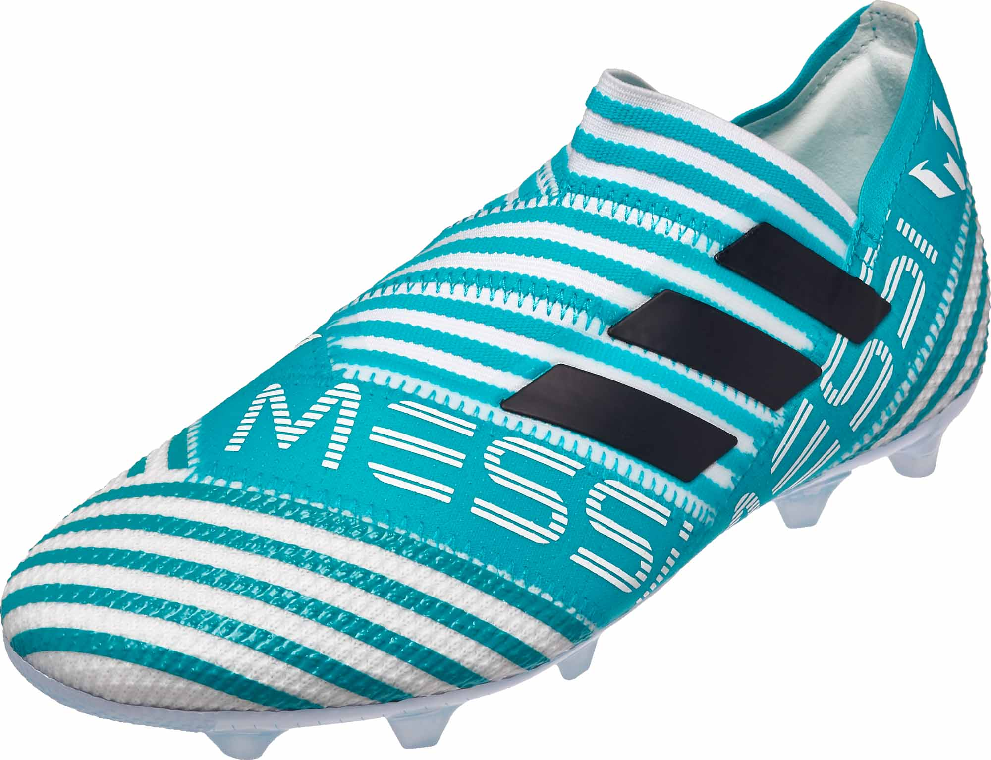 c82d34152507 adidas Kids Nemeziz Messi 17 360Agility FG - White   Legend Ink