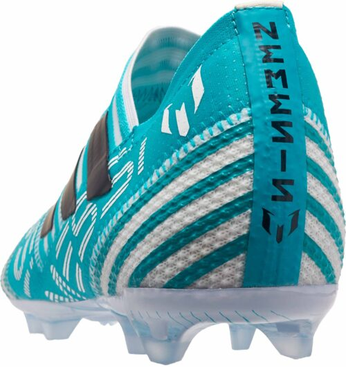 adidas Kids Nemeziz Messi 17  360Agility FG – White/Legend Ink